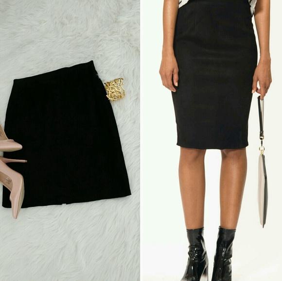 Positano Pelle - Positano Pelle 100% genuine leather pencil skirt ...