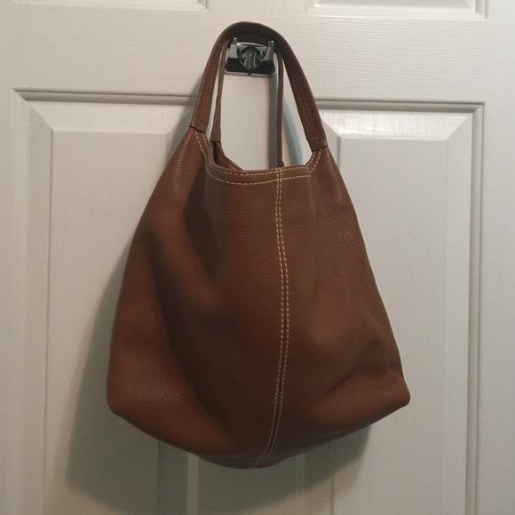 Coldwater Creek Handbags - Coldwater Creek Pebbled Leather Hobo Purse b38cd909e19b8