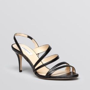 LK Bennett Single Sole Mid Heel Sandal