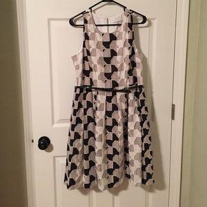 Calvin Klein Geo-print Dress
