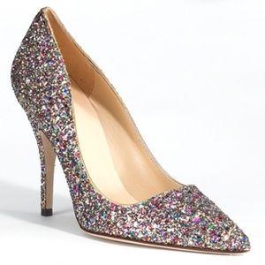 ⛔️ Kate Spade 'Licorice Too' Glitter Pump 7 $328