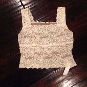 Tops - Lace camisole.