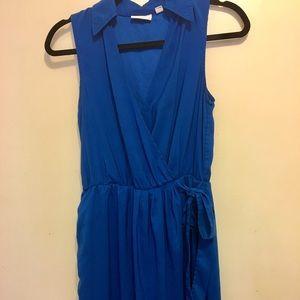 {NY&Co} blue sleeveless dress