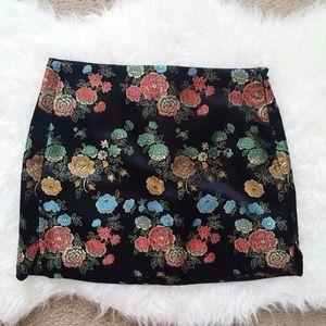 Nasty Gal In Season Jacquard Skirt