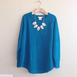 Sweet Romeo Sweaters - Nordstrom Sweet Romeo Teal Sweater M