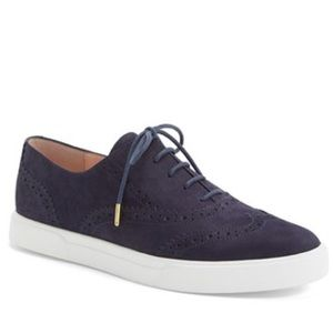 Kate Spade 'Catlyn' Oxford Navy Sneakers 7.5 $258
