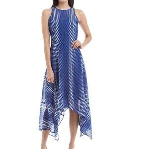 KORS Michael Kors Dresses & Skirts - NWT Michael Kors Dot- Printed Sharkbite Maxi Dress