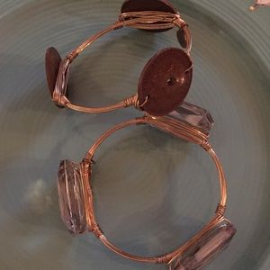 Bourbon and Bowties Jewelry - Bourbon and Bow ties bracelets.