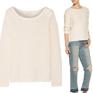 FINAL CHANCE Today! NWT Joie White Anais Sweater