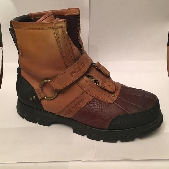Polo Boot Leather Ralph Lauren Sport trQhdCs