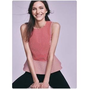 Anthropologie Cantua Peplum Top