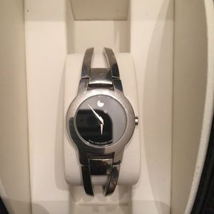 Ladies Movado Amorosa Stainless steel watch