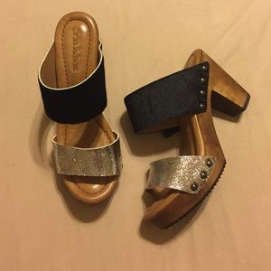 Trask Shoes - Trask chunk heel sandals