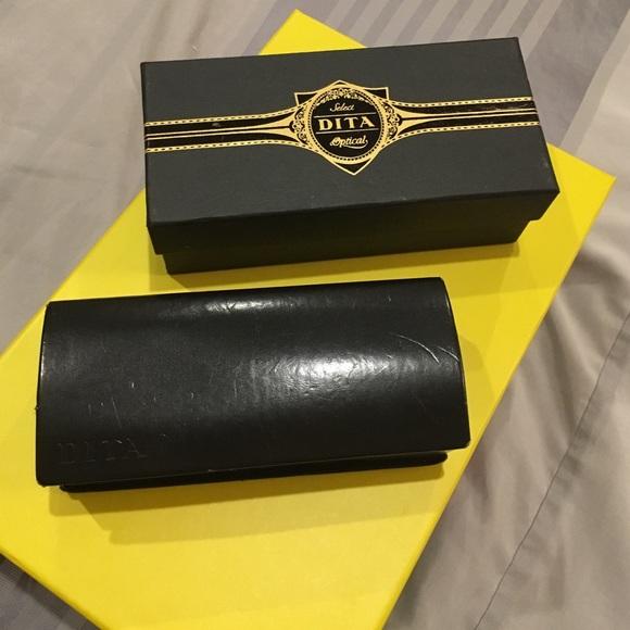 f82f7ad5b2f DITA Accessories - DITA sunglasses case   box 100% Authentic - black
