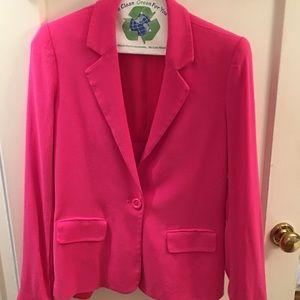 Alice olivia pink jacket