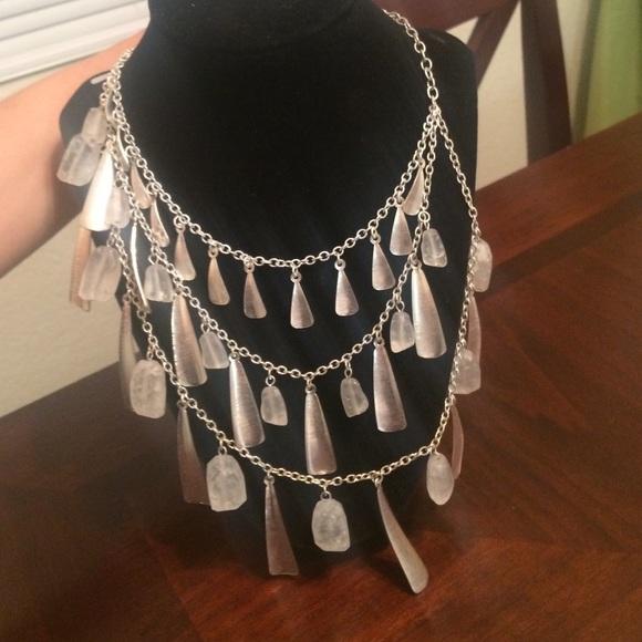 63 off Premier Designs Jewelry Beach Glass Necklace Poshmark