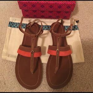 Tory Burch Shoes - Tory Burch logo flat sandals