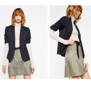Zara Dresses & Skirts - Zara contrast mini skirt
