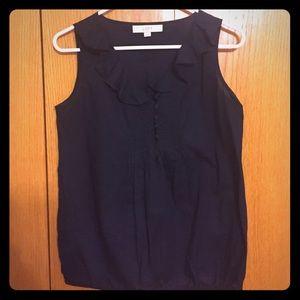 Loft sleeveless blouse size XS