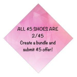 Shoes - $5 SHOE SALE❣️