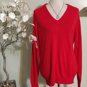 Christian Dior Sweaters - CHRISTIAN DIOR RED SWEATER