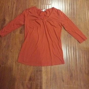 Liz lounge maternity  3/4 sleeve shirt size medium