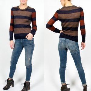 Thakoon Sweaters - Thakoon Addiction Striped Crewneck