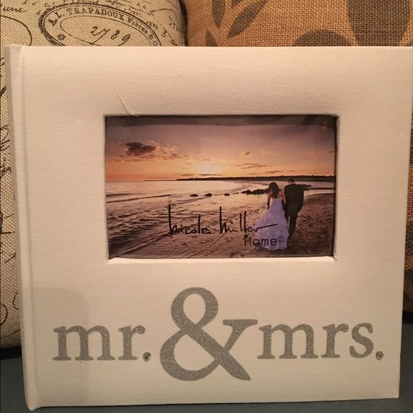 Nicole Miller Other Wedding Photo Album Mr Mrs Poshmark