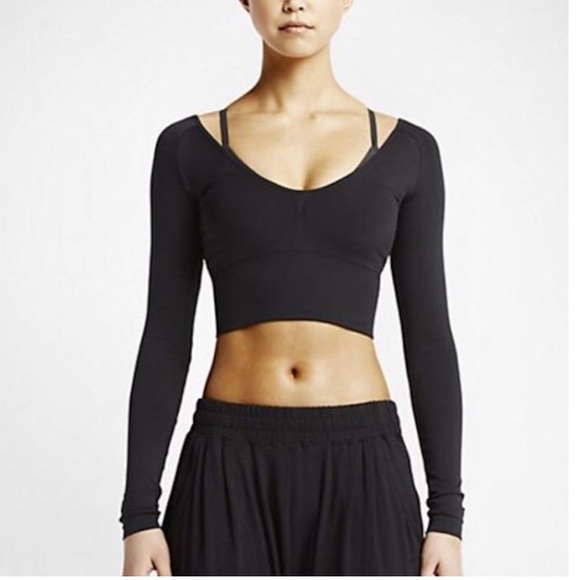 nike long bra tops
