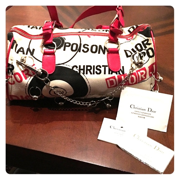 Christian dior hardcore bag