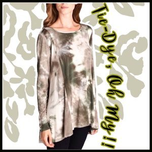 Boutique Tops - NOW IN STOCK! Tie-Dye Tunic