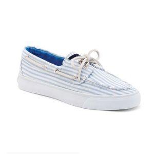 ⛔️ Sperry Bahama 2-Eye Slip On Boat Shoe Sneakers