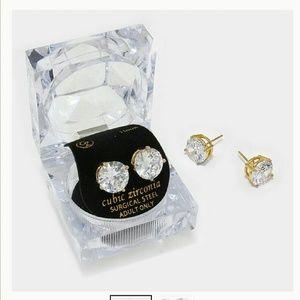 Farah Jewelry Jewelry - Jewelry | AUSTRALIAN CRYSTAL Cz 24K GOLD EARRINGS