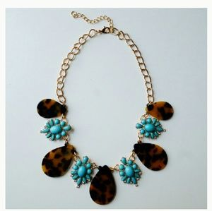 T&J Designs Jewelry - Jewelry | 18K TURQUOISE TORTOISE STONE NECKLACE