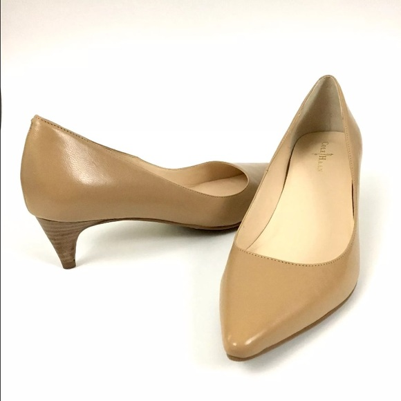 b5691164400 COLE HAAN Nude Nike Air Kitten Heel Pumps