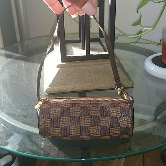 41b3ff6bc29d5 Louis Vuitton Handbags - Louis vuitton mini papillon in damier ebene print