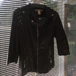 Other - Fabulous faux leather jacket