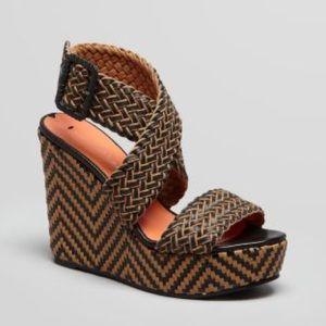 Via Spiga 'Kagan' Wedge Platform Sandal 7 $125