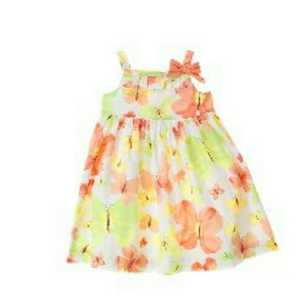 2d7a55a613aa Janie and Jack Other - Janie & Jack Butterfly Garden Dress Girls Sz: ...