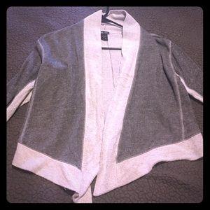 Dark/light grey cardigan