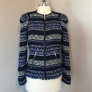 Zara Jackets & Blazers - Zara Woman Tribal Weave Jacket