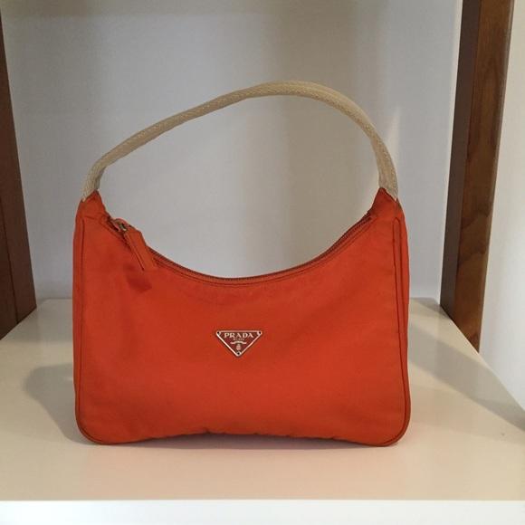 ecbf90e16af4 M 57ebe0a5c28456fb8e004d20. Other Bags you may like. Prada Pebbled Black  Leather Shoulder ...