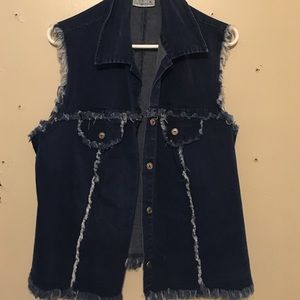 Colors of California Jackets & Blazers - Jean vest