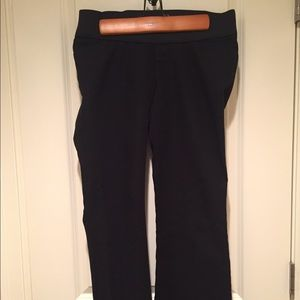 Old Navy Pants - Old Navy low panel maternity black pants