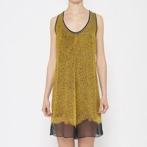 Proenza Black/Yellow tunic dress