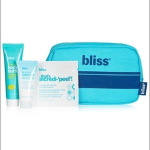 Bliss Other - Bliss pouch w/ body butter, makeup melt, and more