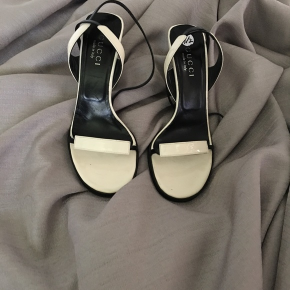 Gucci Shoes | Gucci Cream And Black