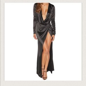 House Of CB Dresses & Skirts - House Of CB High Slit Gown