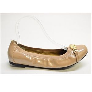 me too Shoes - Me Too Driftwood Patent Flat , Kayley, 8W