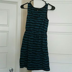 Forever 21 Knit Striped Dress Size S